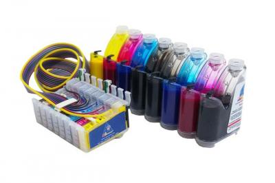 Continuous Ink Supply System (CISS) for Epson Stylus Photo R2000