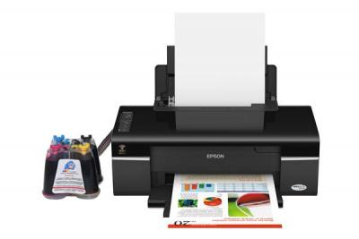 Epson WorkForce 40 Inkjet Printer with CISS