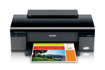 Epson WorkForce 30 Inkjet Printer with CISS
