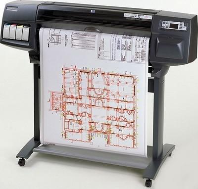 HP DesignJet 1050c plus with CISS