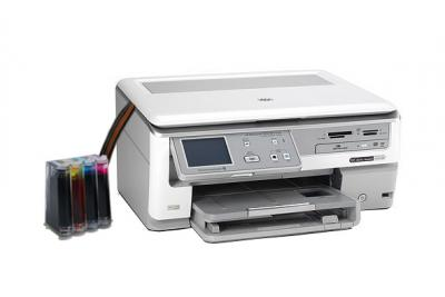 HP Photosmart C8100 All-in-one InkJet Printer with CISS