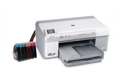 HP Photosmart D5463 InkJet Printer with CISS