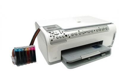 HP Photosmart C6283 All-in-one InkJet Printer with CISS