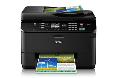 Epson WorkForce Pro WP-4530 All-in-one InkJet Printer with CISS