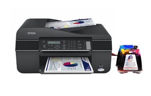 Epson Workforce 320 All In One Inkjet Printer With Ciss