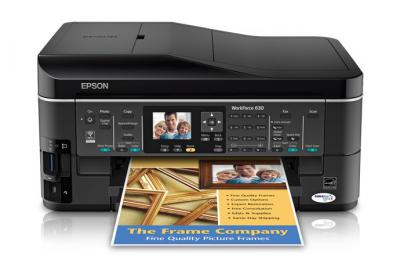Epson WorkForce 630 All-in-one InkJet Printer with CISS