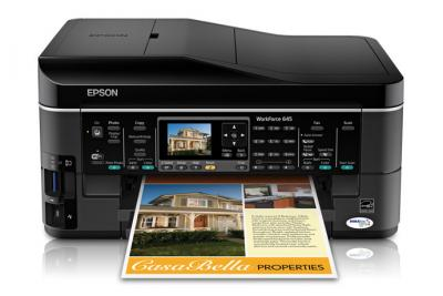 Epson WorkForce 645 All-in-one InkJet Printer with CISS