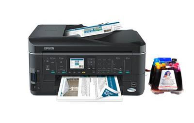 Epson WorkForce 635 All-in-one InkJet Printer with CISS