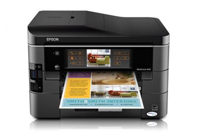 Epson WorkForce 845 All-in-one InkJet Printer with CISS