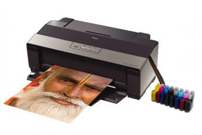 Epson Stylus Photo R1900 Inkjet Printer with CISS
