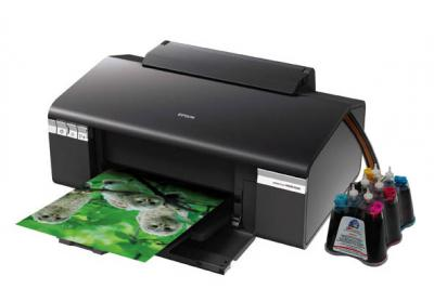 Epson Stylus Photo R295 Inkjet Printer with CISS