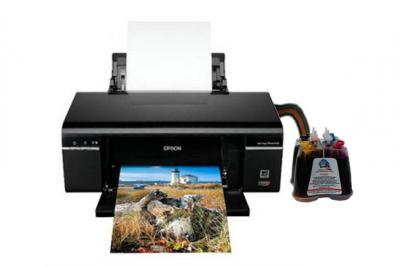 Epson Stylus Photo T50 Inkjet Printer with CISS
