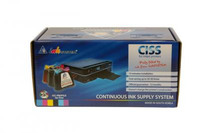 Continuous ink supply system (CISS) HP Officejet J5780 (cartridges 74,75/350,351/140, 141)