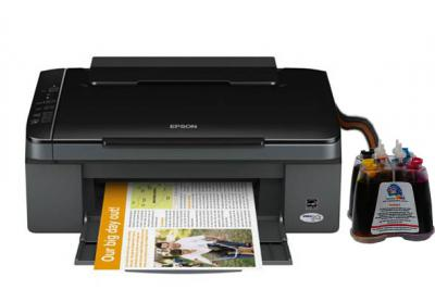 Epson Stylus TX117 All-in-one InkJet Printer with CISS