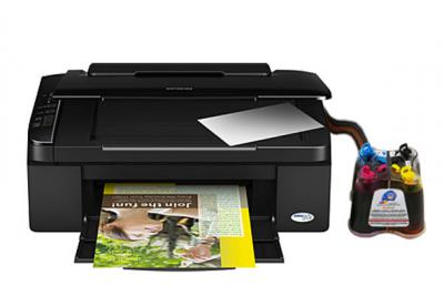 Epson Stylus TX119 All-in-one InkJet Printer with CISS