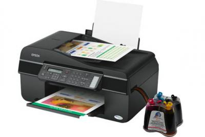 Epson Stylus Office TX300F All-in-one InkJet Printer with CISS