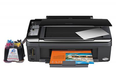 Epson Stylus TX200/TX209 All-in-one InkJet Printer with CISS