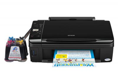 Epson Stylus TX210 All-in-one InkJet Printer with CISS