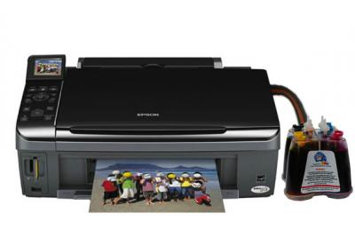 Epson Stylus TX410/TX419 All-in-one InkJet Printer with CISS