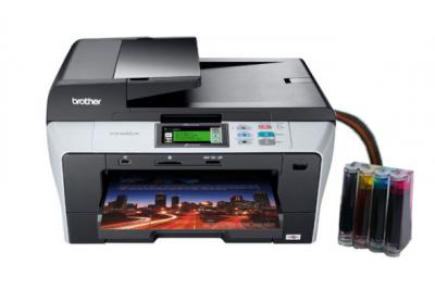 Brother DCP-6690CW All-in-one with CISS