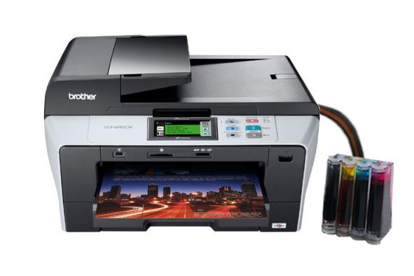 Brother Mfc Jdw Color Inkjet All In One Printer