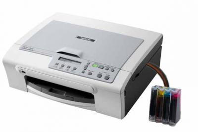 Brother DCP-135CR All-in-one with CISS