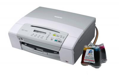 Brother DCP-145C All-in-one with CISS