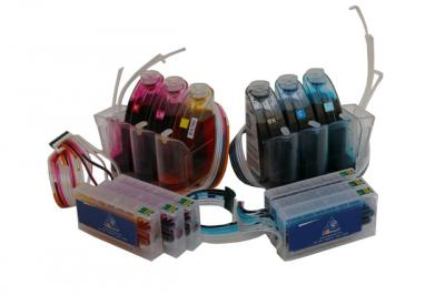 Continuous Ink Supply System (CISS) for Epson Stylus Photo RX700