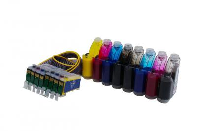 Continuous Ink Supply System (CISS) for Epson Stylus Photo R1900
