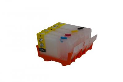 Refillable cartridges for Canon i6500/s530d/mp700/mp730/i550