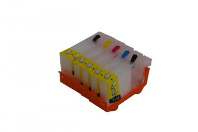 Refillable cartridges for Canon ip4000/ip5000/i865/mp780
