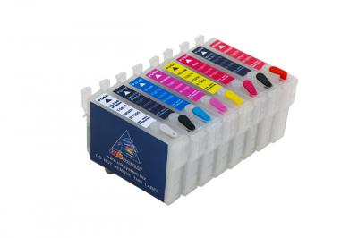 Refillable cartridges for Epson R1900