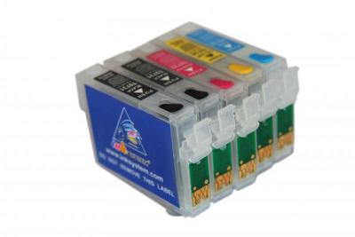 Refillable cartridges for Epson C110