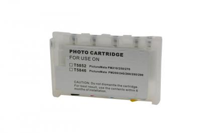 Refillable cartridges for Epson Picture Mate