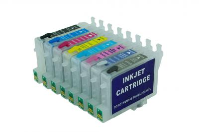 Refillable cartridges for Epson R2400