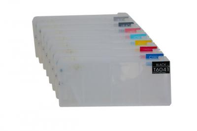 Refillable cartridges for Epson 7880/9880/7800/9800