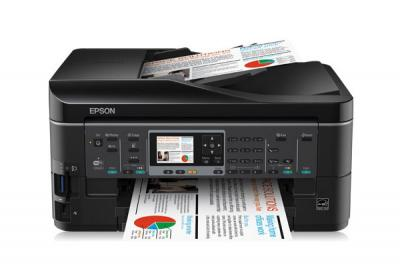 Epson Stylus Office BX630FW  All-in-one InkJet Printer with CISS