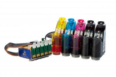 Continuous Ink Supply System (CISS) for Epson Stylus C120