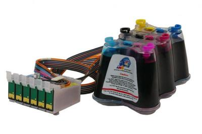 Continuous Ink Supply System (CISS) for Epson Stylus Photo RX585
