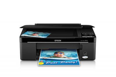Epson Stylus NX130 All-in-one InkJet Printer with CISS