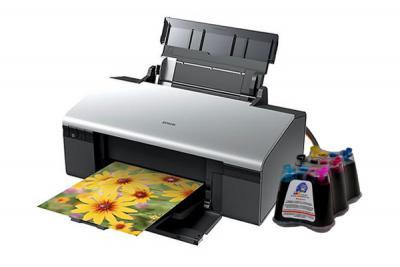 Epson Stylus Photo R290 Inkjet Printer with CISS