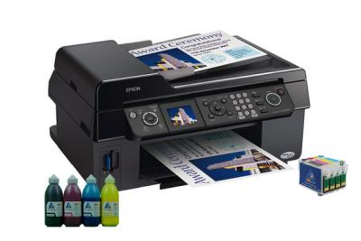 All-in-one Epson Stylus Photo CX9300F with refillable cartridges