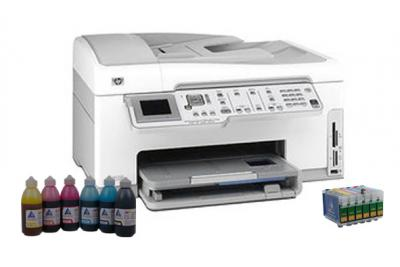 All-in-one HP Photosmart C7283 with refillable cartridges