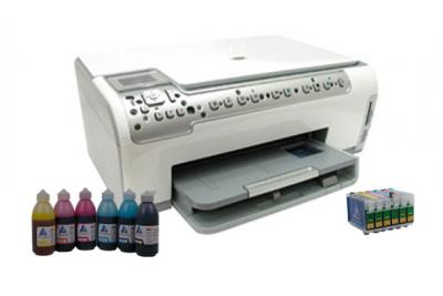 All-in-one HP Photosmart C6283 with refillable cartridges