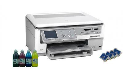 All-in-one HP Photosmart C8100 with refillable cartridges