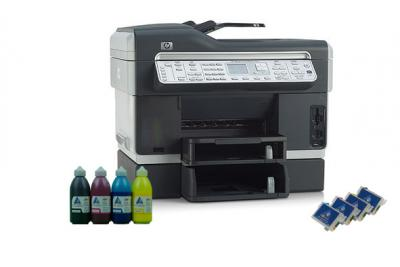All-in-one HP OfficeJet L7700 with refillable cartridges