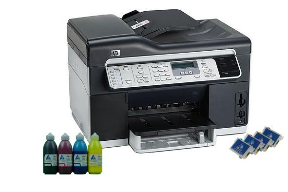 All In One Hp Officejet L7500 With Refillable Cartridges