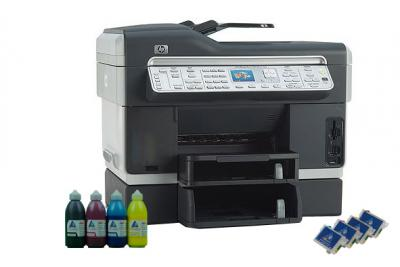 All-in-one HP OfficeJet L7780 with refillable cartridges