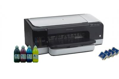Printer HP OfficeJet K8600dn with refillable cartridges