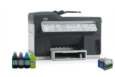All-in-one HP OfficeJet Pro L7580 with refillable cartridges